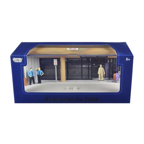 """Diorama """"Airport Scene"""" Place Your Own Car Inside 1/43 by Motormax"""