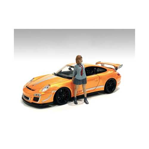 """""""Car Meet 1"""" Figurine V for 1/18 Scale Models by American Diorama"""