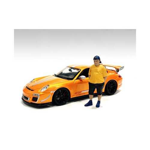 """Car Meet 1"" Figurine II for 1/24 Scale Models by American Diorama"