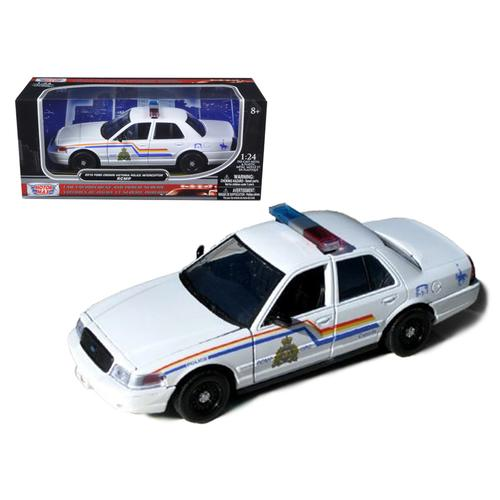 2010 Ford Crown Victoria Royal Canadian Police Car 1/24 Diecast Model by Motormax