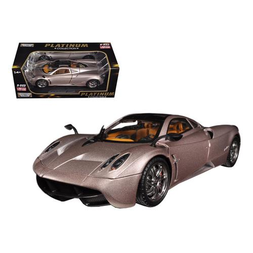 Pagani Huayra Champagne Gold Limited Edition / Platinum Collection 1/18 Diecast Model Car by Motormax