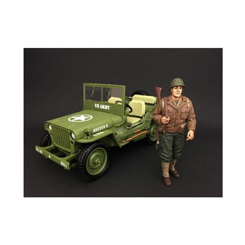 US Army WWII Figure I For 1:18 Scale Models by American Diorama