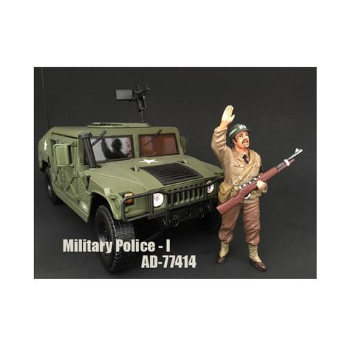 WWII Military Police Figure I For 1:18 Scale Models by American Diorama