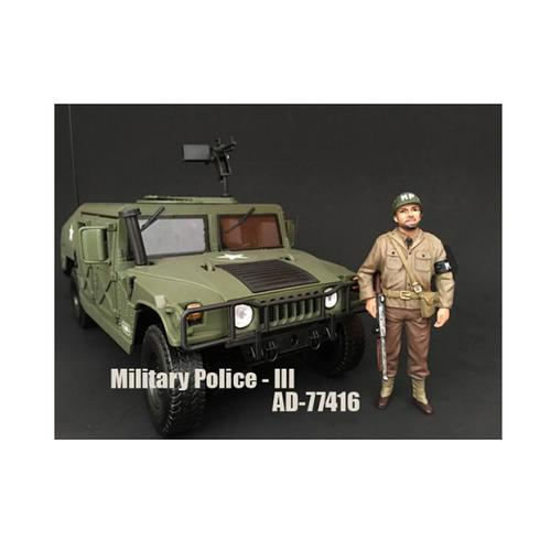 WWII Military Police Figure III For 1:18 Scale Models by American Diorama