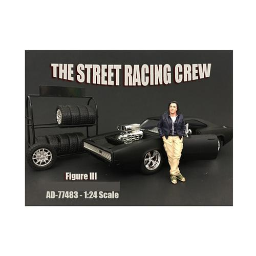 The Street Racing Crew Figure III For 1:24 Scale Models by American Diorama