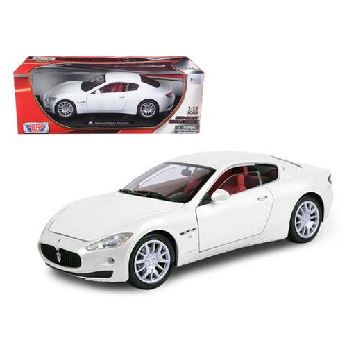 Maserati GT Gran Turismo White 1/18 Diecast Car Model by Motormax