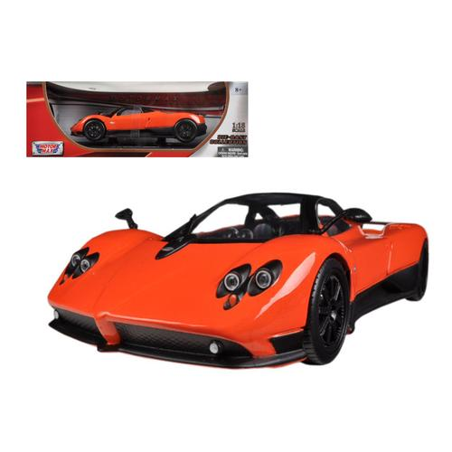 Pagani Zonda F Orange 1/18 Diecast Car Model by Motormax