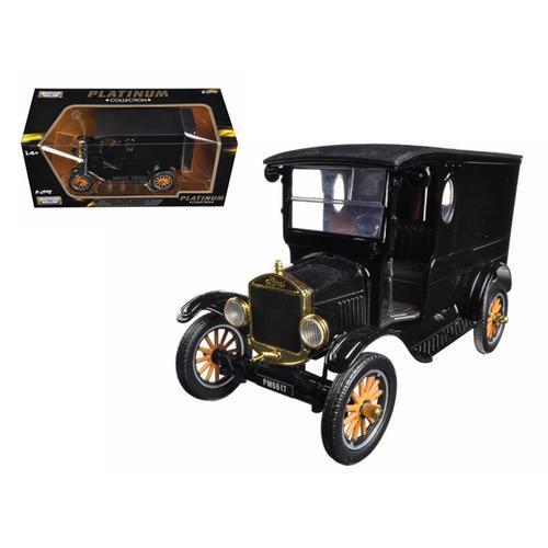 1925 Ford Model T Paddy Wagon Black 1/24 Diecast Model Car by Motormax