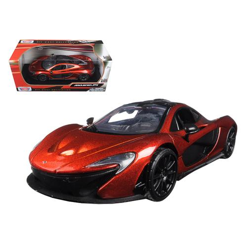 McLaren P1 Orange 1/24 Diecast Model Car by Motormax