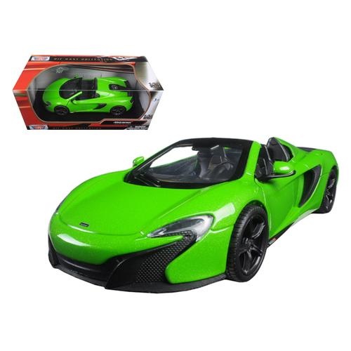 McLaren 650S Spider Green 1/24 Diecast Model Car by Motormax
