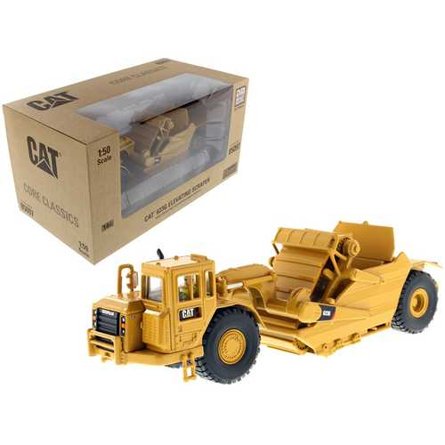 CAT Caterpillar 623G Elevating Scraper with Operator 1/50 Diecast Model by Diecast Masters