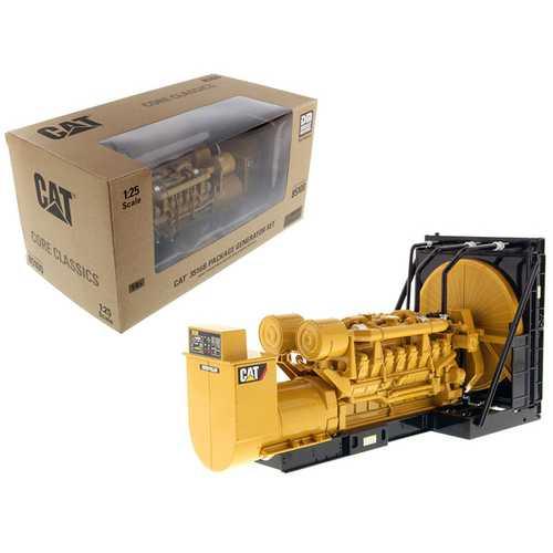"CAT Caterpillar 3516B Engine Generator 3 piece Set ""Core Classic"" Series 1/25 Diecast Model by Diecast Masters"