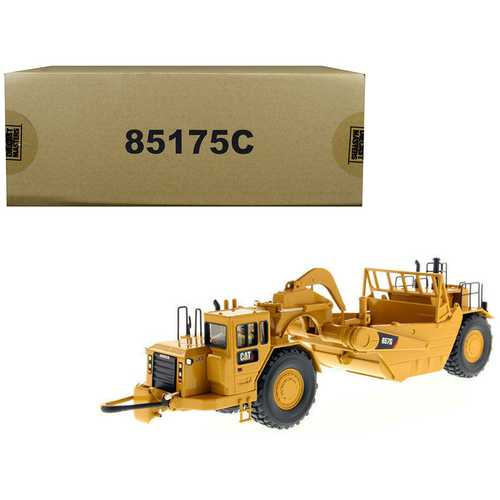 "CAT Caterpillar 657 G Wheel Tractor Scraper with Operator ""Core Classics Series"" 1/50 Diecast Model by Diecast Masters"