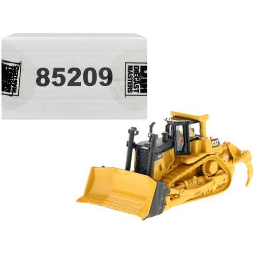 "CAT Caterpillar D9T Track Type Tractor with Operator ""High Line"" Series 1/87 (HO) Scale Diecast Model by Diecast Masters"