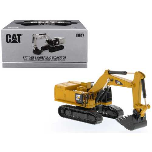 "CAT Caterpillar 390F L Hydraulic Excavator ""Elite Series"" 1/125 Diecast Model by Diecast Masters"