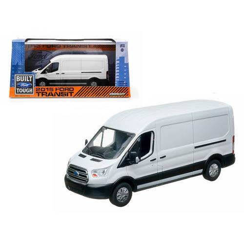 2015 Ford Transit (V363) Oxford White 1/43 Diecast Car Model by Greenlight