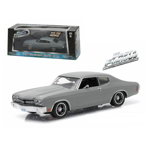 "Dom's 1970 Chevrolet Chevelle SS ""Fast and Furious"" Movie (2009) 1/43 Diecast Model Car by Greenlight"