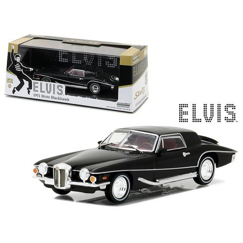 1971 Stutz Blackhawk Elvis Presley (1935-1977) 1/43 Diecast Model Car by Greenlight