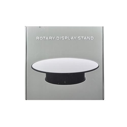 "Rotary Display Stand 12"" For 1/18 1/24 1/64 1/43 Model Cars With Mirror Top"
