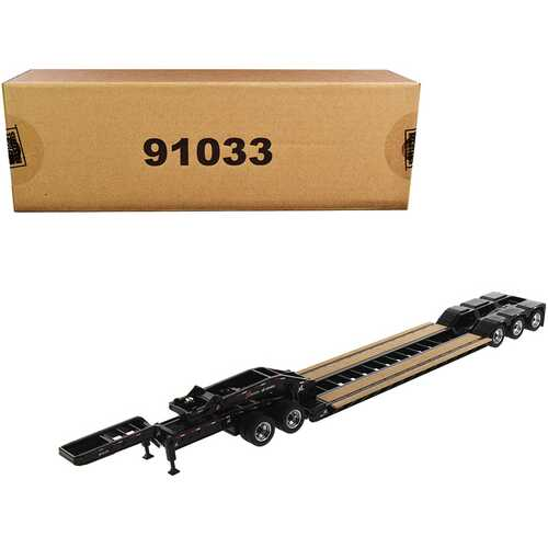 "XL 120 Low-Profile HDG Outrigger Style Trailer with Jeep and 2 Boosters ""Transport Series"" 1/50 Diecast Model by Diecast Masters"