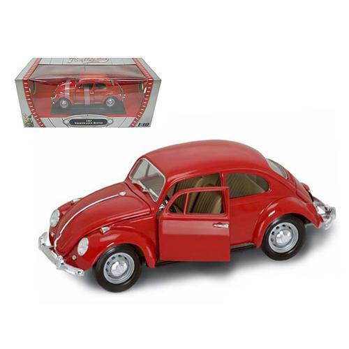 1967 Volkswagen Beetle Red 1/18 Diecast Model Car by Road Signature