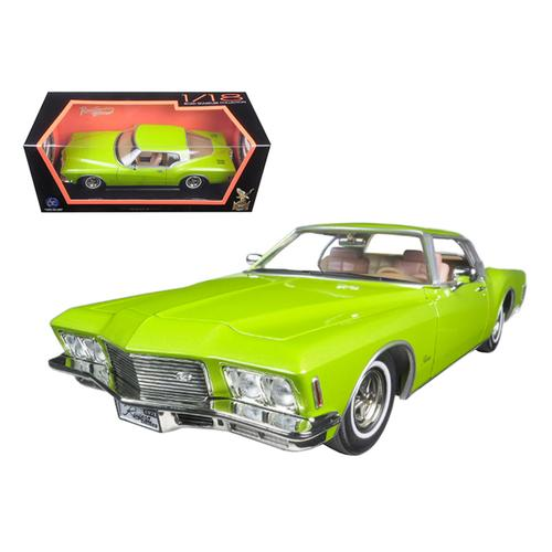 1971 Buick Riviera GS Green 1/18 Diecast Model Car by Road Signature