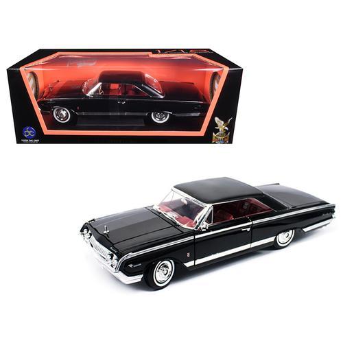 1964 Mercury Marauder Black 1/18 Diecast Model Car by Road Signature