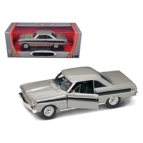 1964 Ford Falcon Gray 1/18 Diecast Model Car by Road Signature