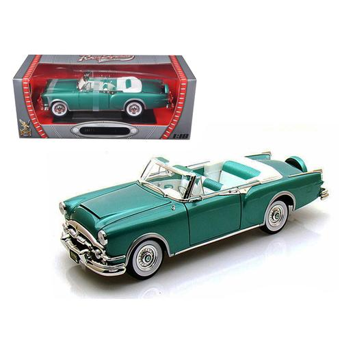 1953 Packard Caribbean Green 1/18 Diecast Car Model by Road Signature