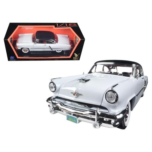 1952 Lincoln Capri White 1/18 Diecast Car Model by Road Signature