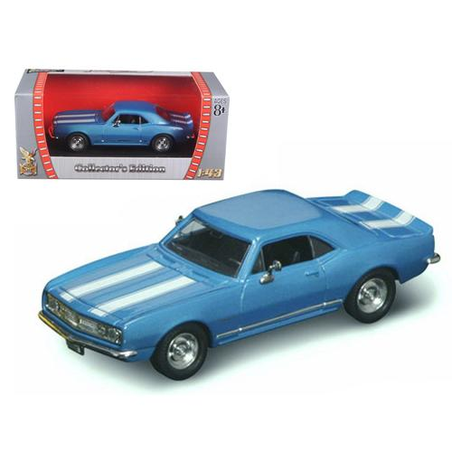 1967 Chevrolet Camaro Z-28 Blue 1/43 Diecast Model Car by Road Signature