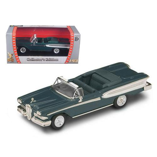 1958 Edsel Citation Green 1/43 Diecast Car by Road Signature