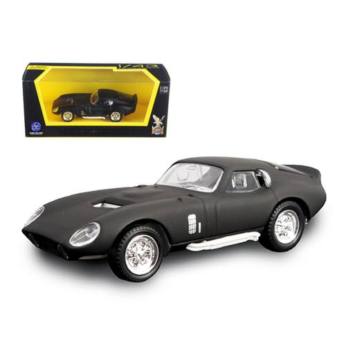 1965 Shelby Cobra Daytona Coupe Matt Black 1/43 Diecast Model Car by Road Signature
