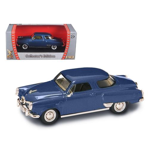 1950 Studebaker Champion Blue 1/43 Diecast Model Car by Road Signature