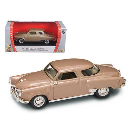 1950 Studebaker Champion Golden Tan 1/43 Diecast Car Model by Road Signature