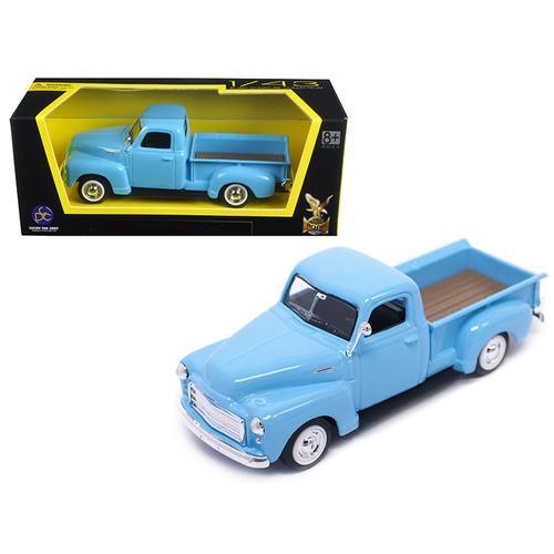 1950 GMC Pickup Truck Light Blue 1/43 Diecast Model Car by Road Signature
