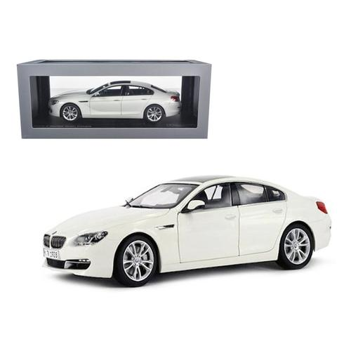 BMW 650i Gran Coupe 6 Series F06 Alpine White 1/18 Diecast Car Model by Paragon