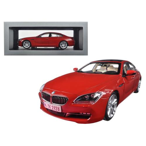 BMW 650i Gran Coupe 6 Series F06 Melbourne Red 1/18 Diecast Model Car by Paragon
