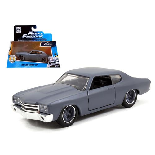 "Dom's Chevrolet Chevelle SS Primer Grey ""Fast & Furious"" Movie 1/32 Diecast Model Car by Jada"