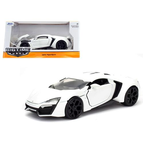 Lykan Hypersport White 1/24 Diecast Model Car by Jada
