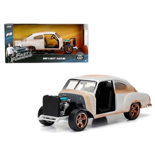 "Dom's Chevrolet Fleetline ""Fast & Furious"" F8 Movie 1/24 Diecast Model Car  by Jada"