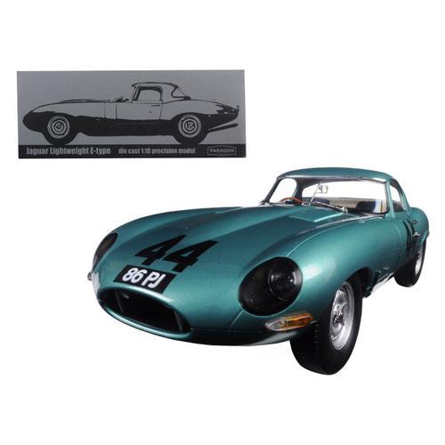 "1963 Jaguar Lightweight E-Type #44 ""Arkins 86 PJ"" 1/18 Diecast Model Car by Paragon"