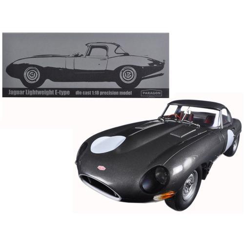 Jaguar Lightweight E-Type Continuation Gunmetal 1/18 Diecast Model Car  by Paragon