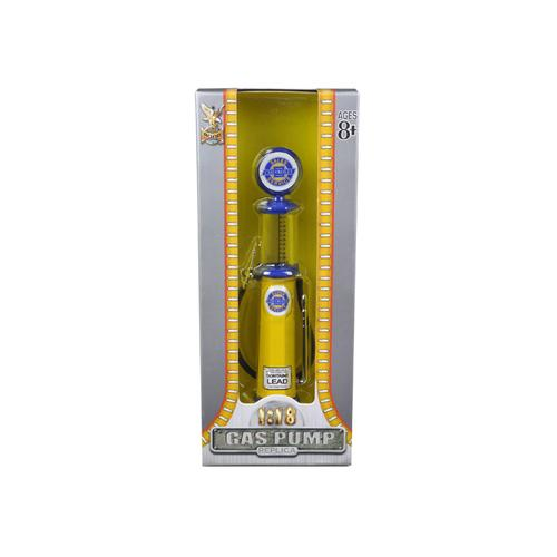Chevy Gasoline Vintage Gas Pump Cylinder 1/18 Diecast Replica by Road Signature