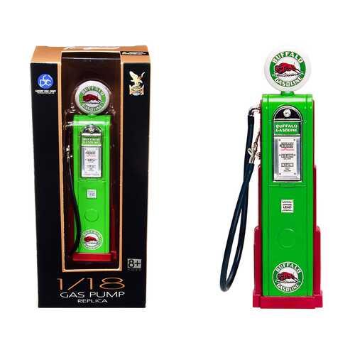 """Buffalo Gasoline"" Vintage Digital Gas Pump Replica 1/18 Diecast Replica by Road Signature"