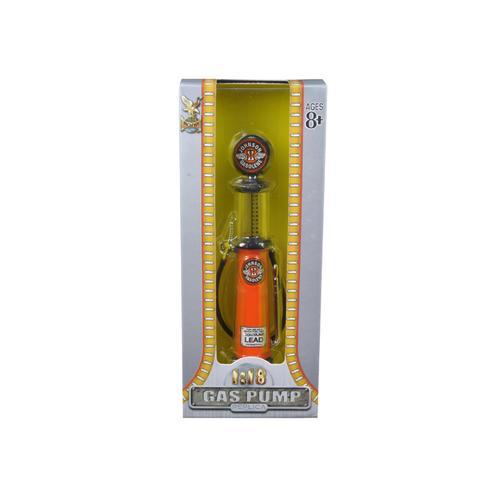 Johnson Gasoline Vintage Gas Pump Cylinder 1/18 Diecast Replica by Road Signature
