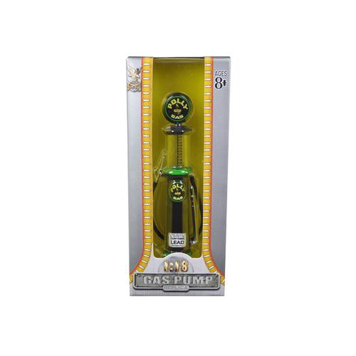 """""""Polly"""" Gasoline Vintage Gas Pump Cylinder 1/18 Diecast Replica by Road Signature"""