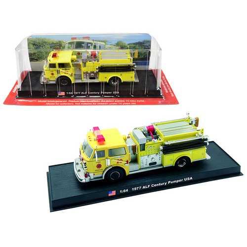 1977 American LaFrance (ALF) Century Pumper Fire Rescue Engine (Miami-Dade, Florida) 1/64 Diecast Model by Amercom