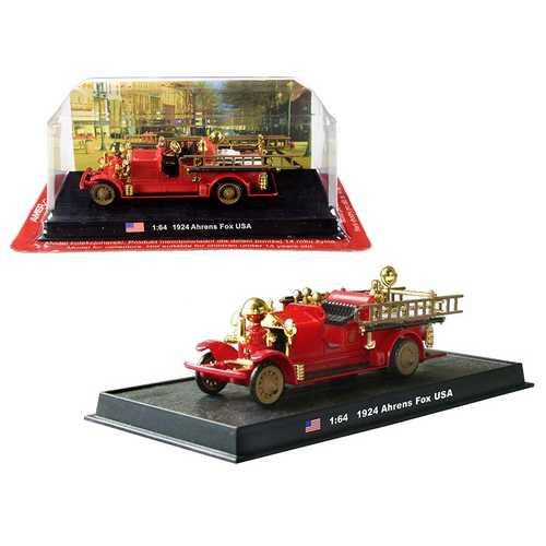 1924 Ahrens Fox Fire Engine 1/64 Diecast Model by Amercom