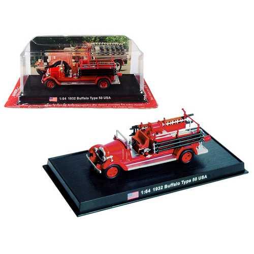 1932 Buffalo Type 50 Fire Engine (Montville, New Jersey) 1/64 Diecast Model by Amercom